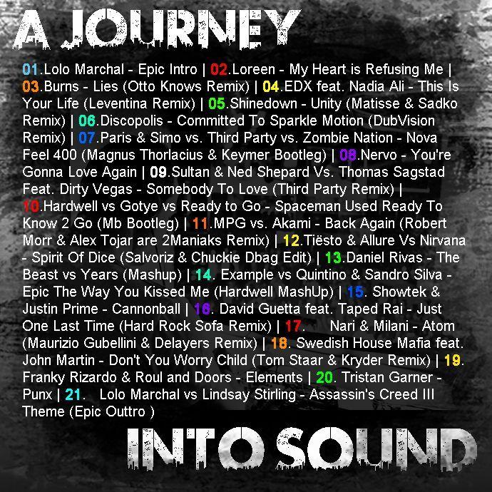 A Journey into Sound Back+Tracklist